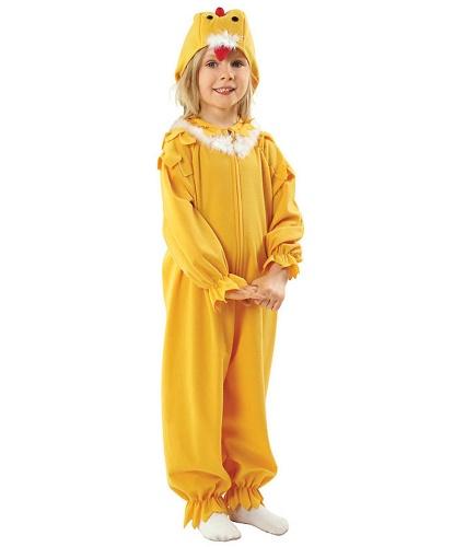 Детский костюм цыпленка: комбинезон, головной убор (Польша)