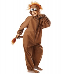 Детский костюм льва: капюшон, комбинезон (Польша)