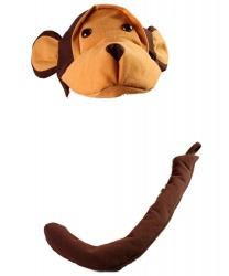 Шапочка и хвост обезьяны