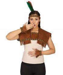 Набор индейской девушки