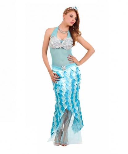 Костюм русалки: платье (Италия)
