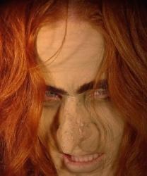 Нос ведьмы с клеем