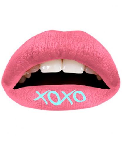 Наклейка на губы Хохо 3 шт., цвет розовый (Англия)