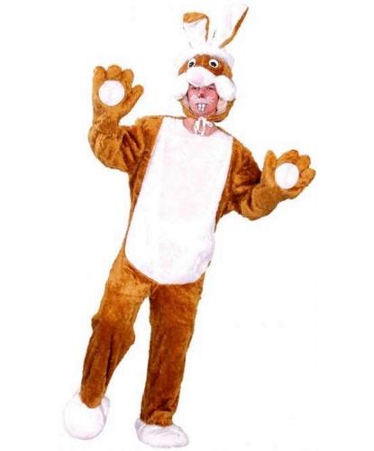 Взрослый костюм кролика: костюм, шапка (Германия)