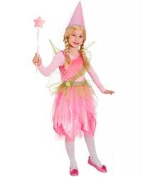 Костюм розовой феи с крыльями