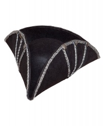 Пиратская треуголка (иск. кожа) - Пираты и пиратки, арт: 6554
