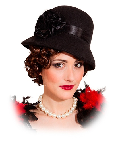 Шляпа в стиле Чарльстон (Германия)