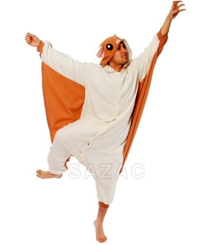 Кигуруми Белка: пижама с капюшоном (Германия)