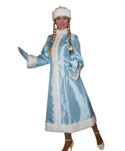 Шуба, шапка и рукавицы снегурочки (Россия)