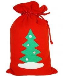 Мешок для подарков  Ёлка  - Другие аксессуары, арт: 6579