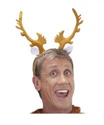Рога оленя светло-коричневые - Рога, нимбы, уши, арт: 6593