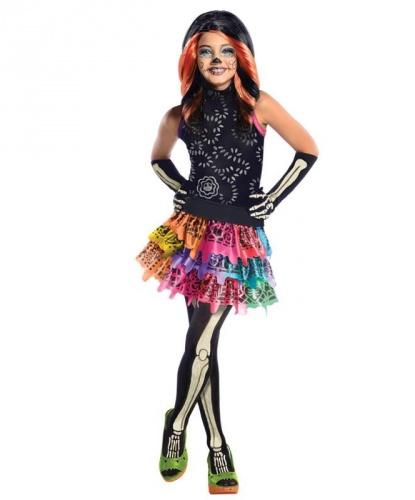 Скелита Калаверас из MonsterHigh: платье, перчатки, колготки, пояс (Германия)