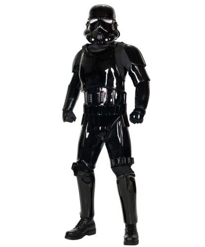 Костюм Черного Штурмовика: комбинезон, пластиковые накладки, шлем, пояс (Германия)