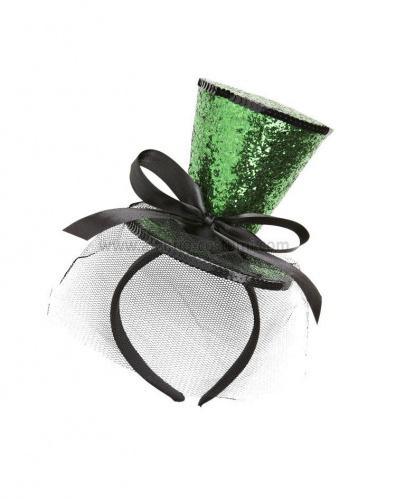 Блестящая мини-шляпка  (Италия)