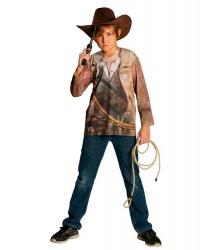 Детская ковбойская футболка