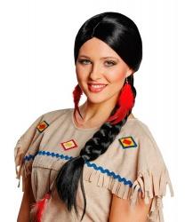 Черная коса индианки