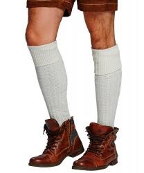 Белые мужские гольфы - Чулки, колготки, арт: 6637
