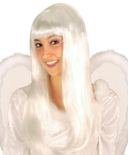 Белоснежный парик ангела: белый (Германия)