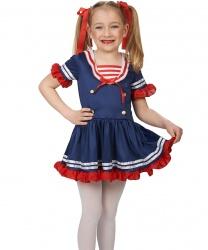Детское платье морячки