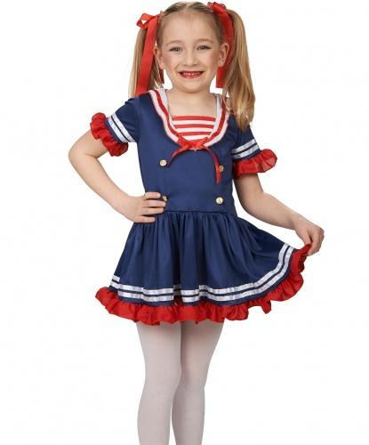 Детское платье морячки: платье (Германия)