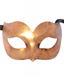 Золотая венецианская маска