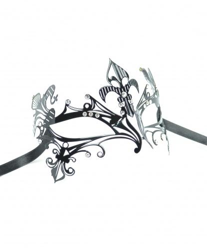 Венецианская маска из металла, металл (Италия)