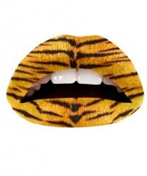 "Наклейка на губы ""The tiger"""