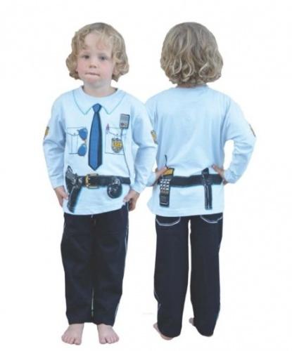 Детская униформа полицейского: футболка, штаны (Великобритания)