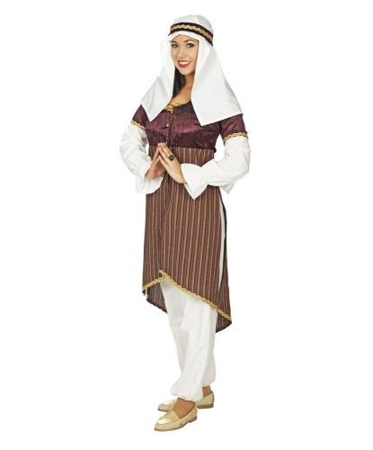 Арабский женский костюм: головной убор, штаны, платье (Германия)