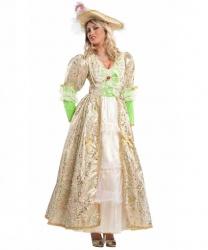 Костюм французской графини: платье, шляпа (Италия)