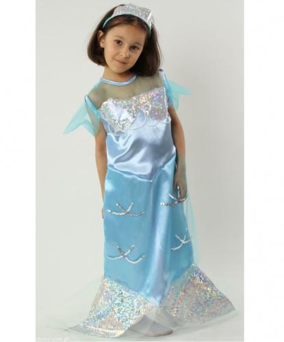 Костюм русалочки (цвета в ассортименте): платье, ободок (Польша)