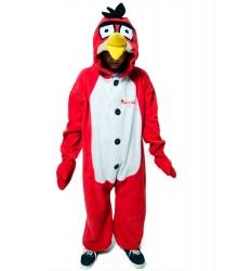 Кигуруми Angry Birds Красная: комбинезон с капюшоном (Россия)