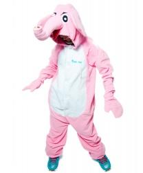 Кигуруми Розовый Слон