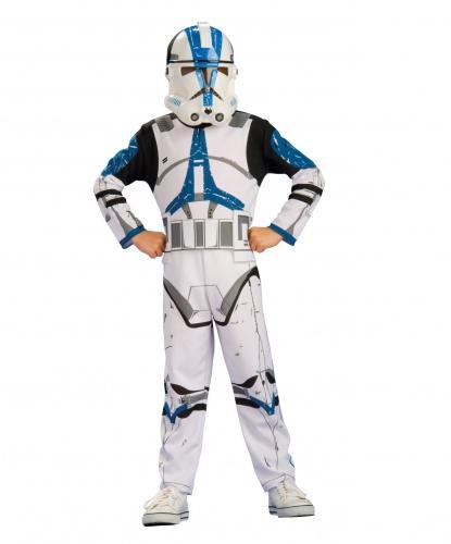 Костюм Клона из Звездных Войн: комбинезон, маска (Германия)