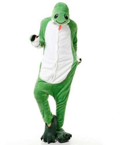 Кигуруми Змея: комбинезон с капюшоном (Китай)