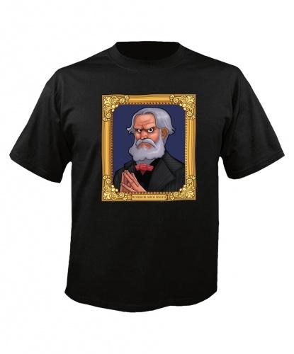 Футболка Портрет из Призрачного поместья: футболка (Великобритания)
