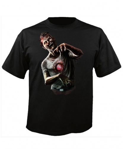 Футболка Бьющееся сердце зомби: футболка (Великобритания)