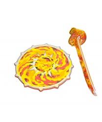Набор из меча и щита  Огненное солнце  - Другое, арт: 6788