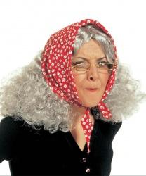 Седой парик Бабы Яги