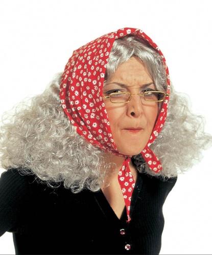 Седой парик Бабы Яги: седой (Италия)