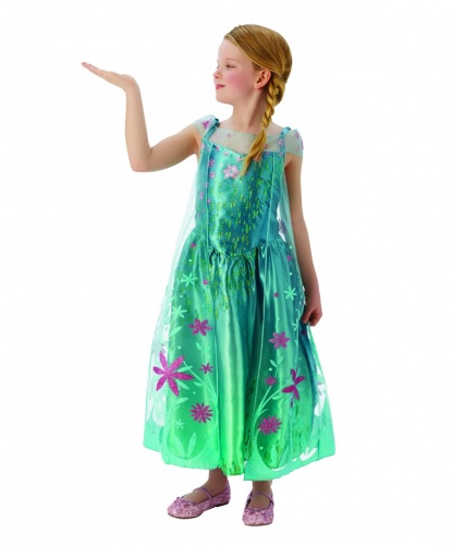 Костюм принцессы Эльзы из Холодного сердца: платье (Германия)