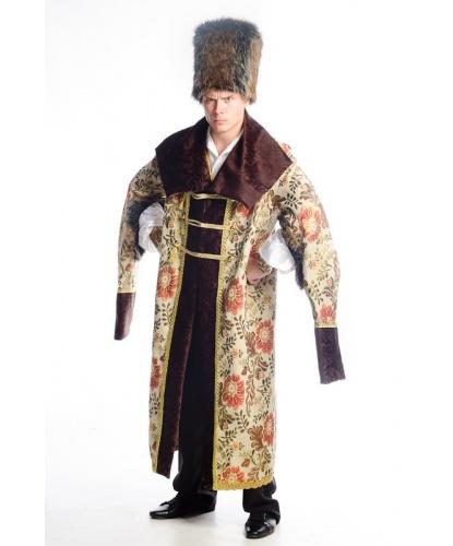 Костюм боярина: тулуп, шапка (Россия)