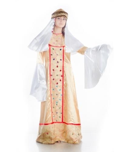 Костюм княгини: платье, воротник, шапочка. (Украина)