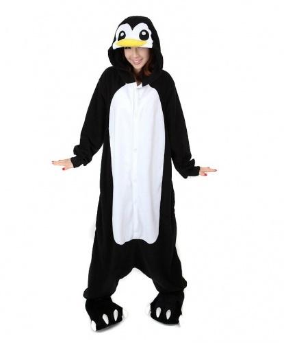 Кигуруми Пингвин: комбинезон с капюшоном (Китай)