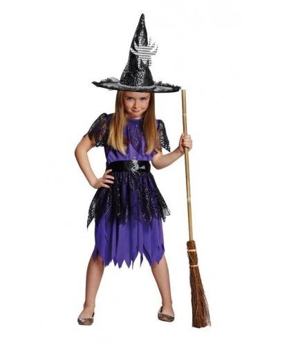 Костюм ведьмы паутинки: платье, пояс (Германия)