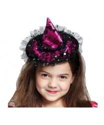 Ведьминская шляпка на ободе