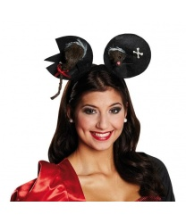 Уши Минни-Маус на Хэллоуин