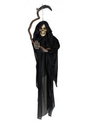 """Декорация на хэллоуин """"Смерть с косой"""" (130 см)"""