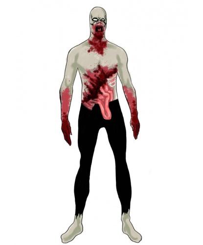Морф костюм Зомби (Англия) на Хэллоуин