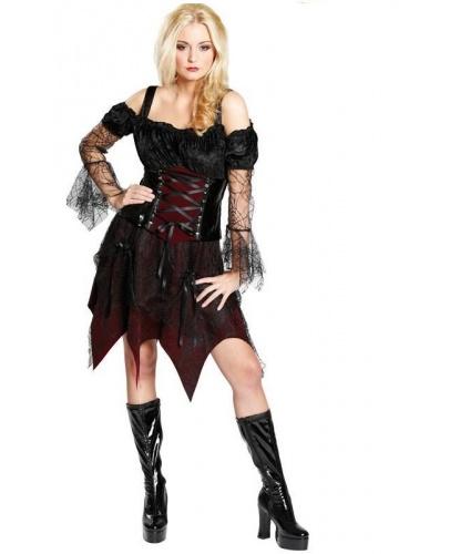 Костюм веселой ведьмы: платье (Германия)